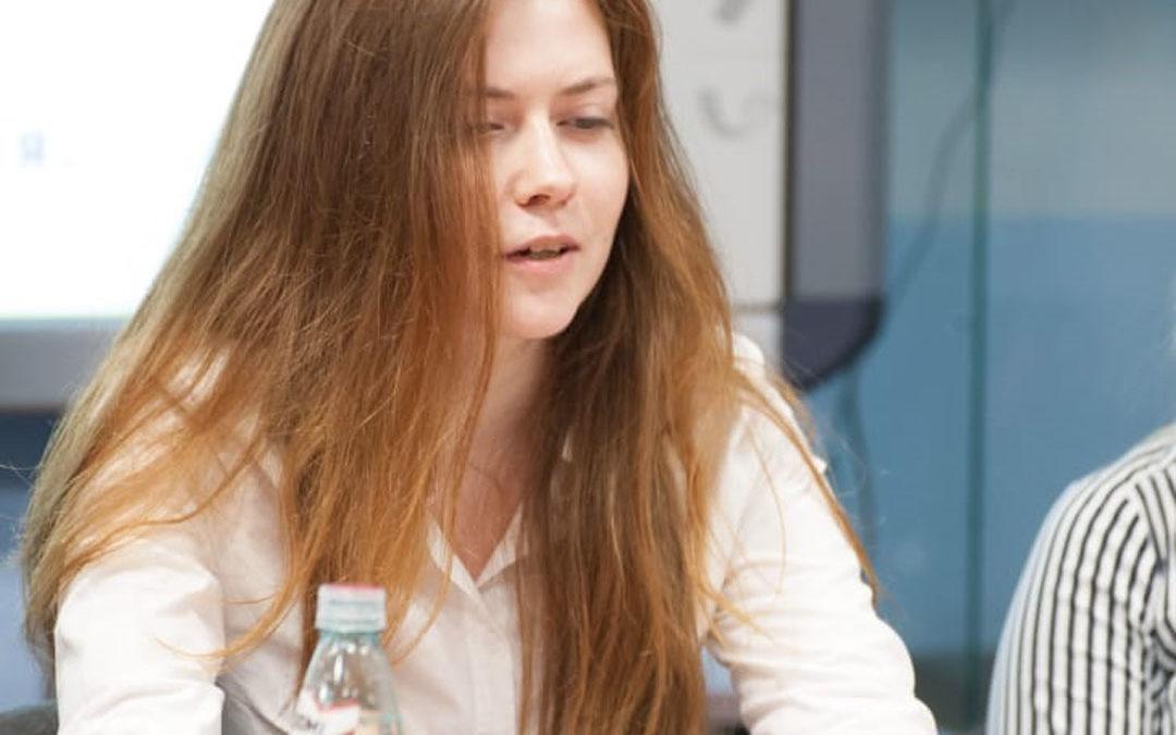 Оносова Евгения, экономист. Отзыв о круглом столе Проекта «БИЗНЕСЭКОЛОГИЯ»